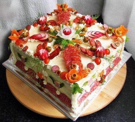 торт из закуски