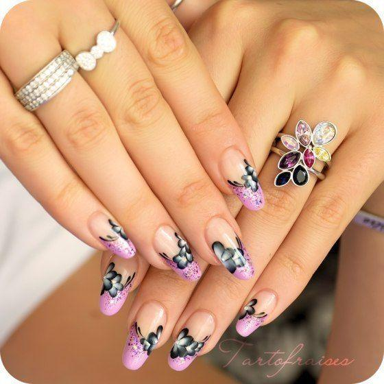 цветы-ногти