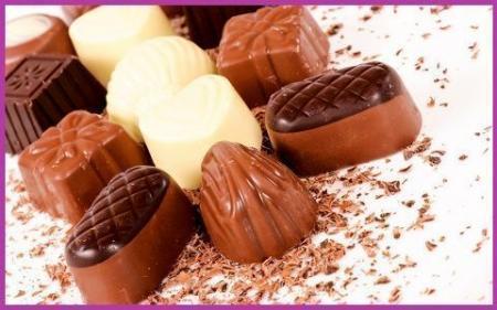 шоколады качество 480