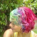 яркие-волосы