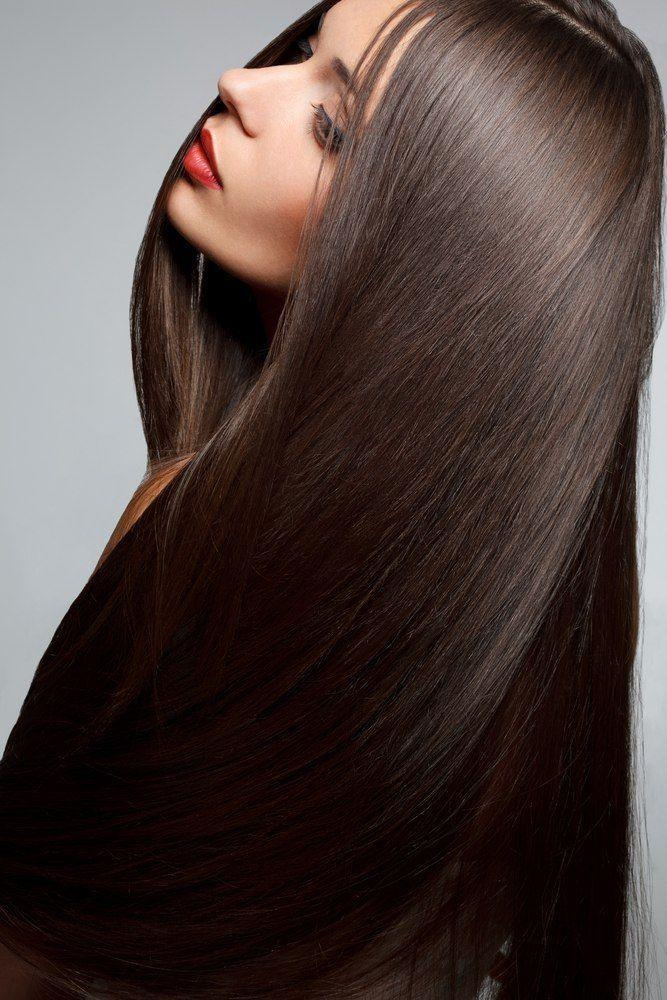 Красивые волосы и длинные