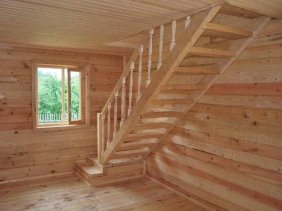 деревянная-лестница