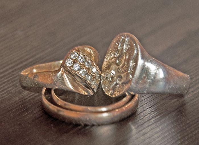 на каком пальце носить золот кольца
