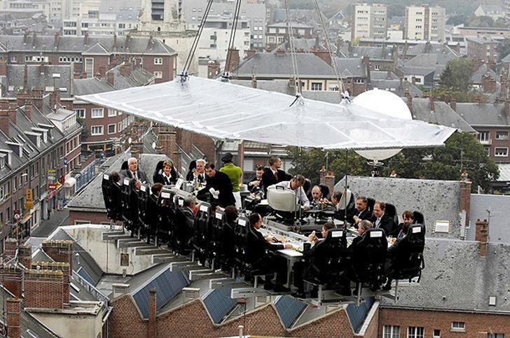ресторан в небе