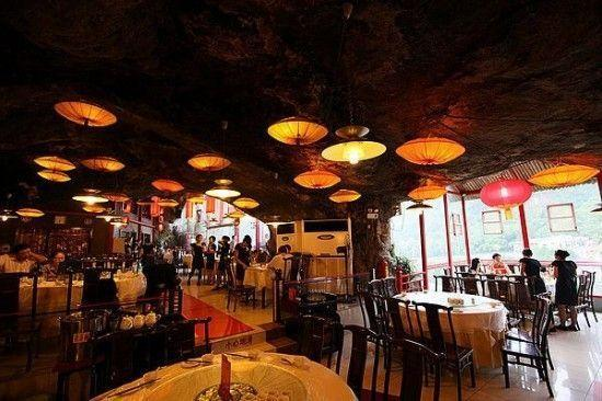 ресторан китай на скале