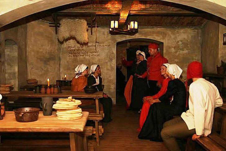 средневековая таверна ресторан