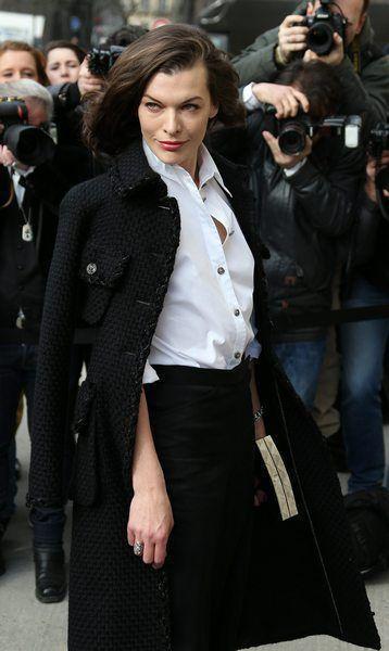 Celebrities at Chanel Fashion Show - Paris