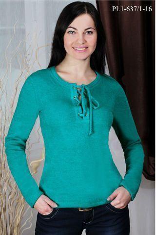 бирюза-свитер