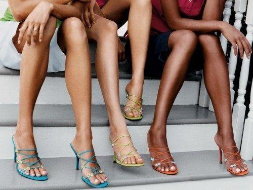 красивые ноги женщины за 30