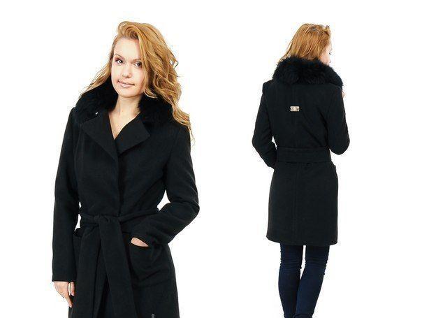 пальто зима красивое черное
