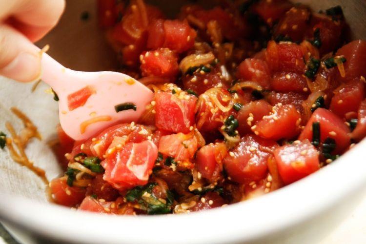 салат из тунца шалот соевый соус
