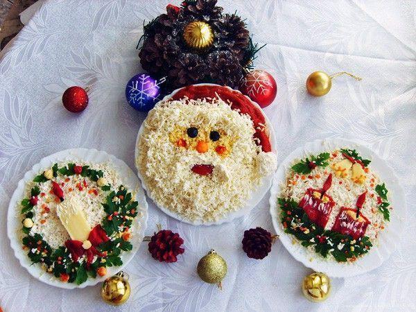 Украшаем новогодний блюда своими руками