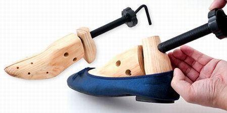 деревянная колодка для разноски обуви