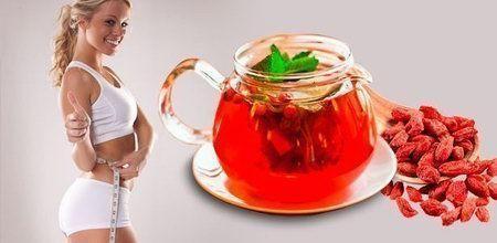 чай из ягод годжи для похудения