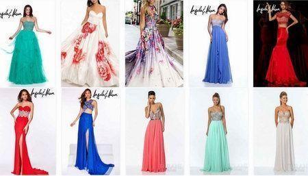 выпускные платья 2015 6