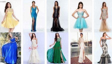 выпускные платья 2015 9