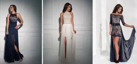 шелковые выпускные платья 2015