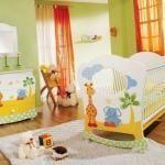 Detskaya-komnata-dlya-novorojdennogo-malchika детская комната