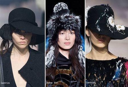 шапки с бахромой