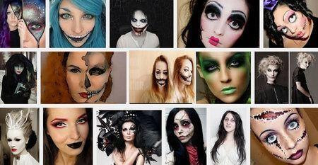 black-and-white-halloween-хэллоуин_make_up_2015-min
