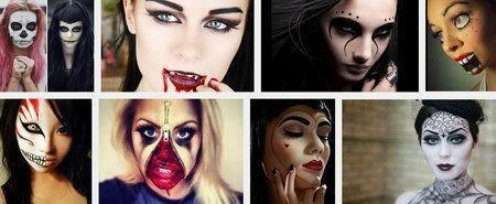 какой можно сделать макияж на хэллоуин своими руками
