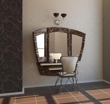 Дизайн трюмо с зеркалом фото
