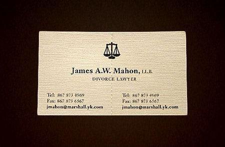 визитка адвоката по разводу