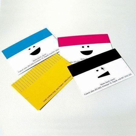 визитка от салона красоты
