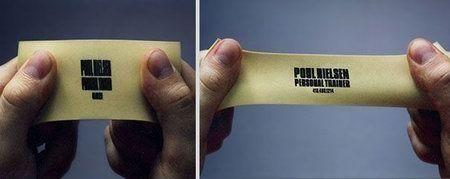 визитка резина