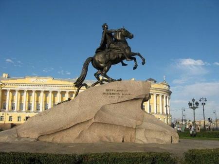 bronze-horseman-monument