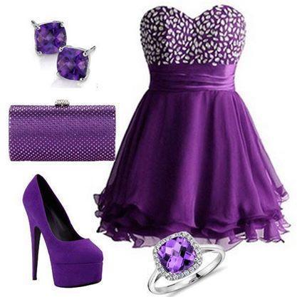 mini-purple-evening-dress-combination