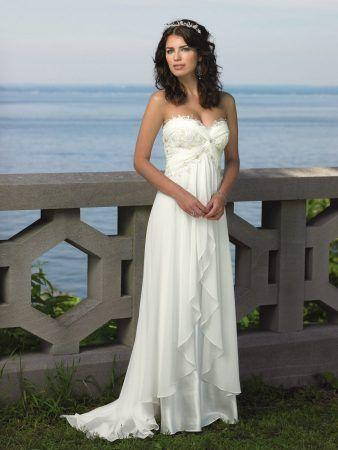 001210strapless-chiffon-sweetheart-beach-wedding-dress-with-empire-waistline