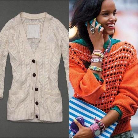 Модные Вязаные Кофты 2017