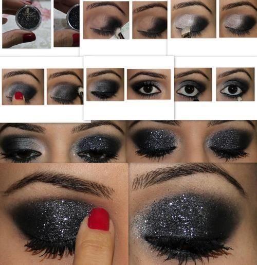 Как нанести вечерний макияж