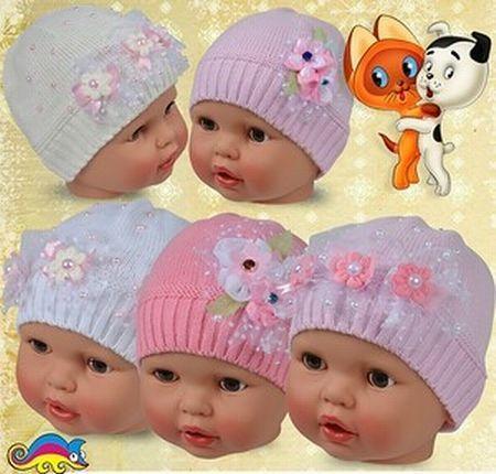 вязаные шапки оптом от производителя