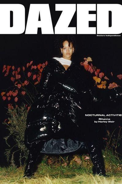 Очередная порция стиля от Рианны: певица снялась в фотосете для Dazed