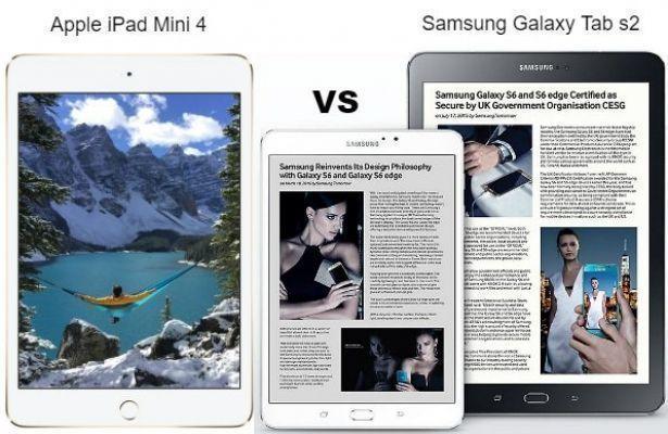 Планшет Apple iPad Mini 4 vs Samsung Galaxy Tab s2 — по-прежнему в строю