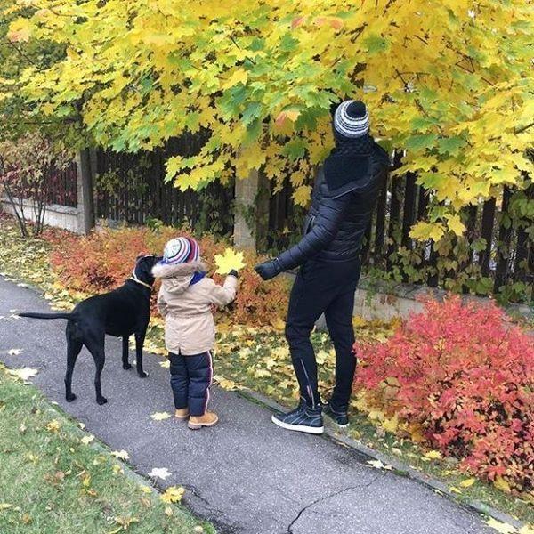 Сергей Лазарев очаровал милым фото с сыном