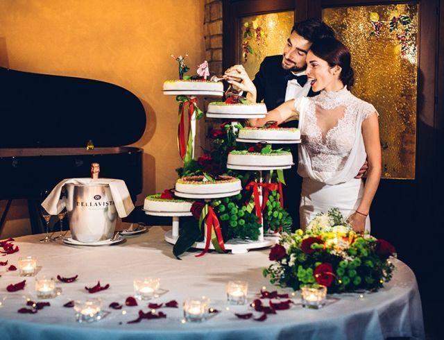 Свадьба Сати Казановой и Стефано Тиоццо в Италии: появились роскошные ФОТО