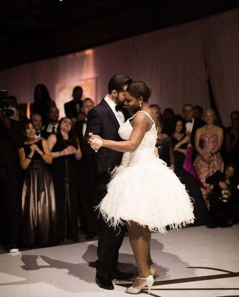 В Сеть попали кадры роскошной свадьбы Серены Уильямс и Алексиса Оганяна: 250 звездных гостей, любовные клятвы и новорожденная дочь на празднике