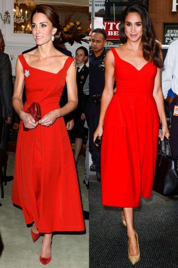 Меган Маркл обогнала Кейт Миддлтон в модном рейтинге