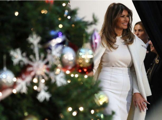 Мелания Трамп мечтает провести Рождество подальше от Белого дома (ФОТО)