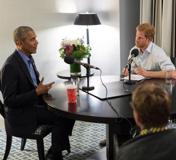 Принц Гарри взял интервью у Барака Обамы: разговор по душам на околополитические темы