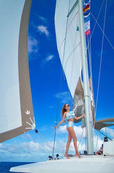 Анна Калашникова попала в страшную аварию в открытом море