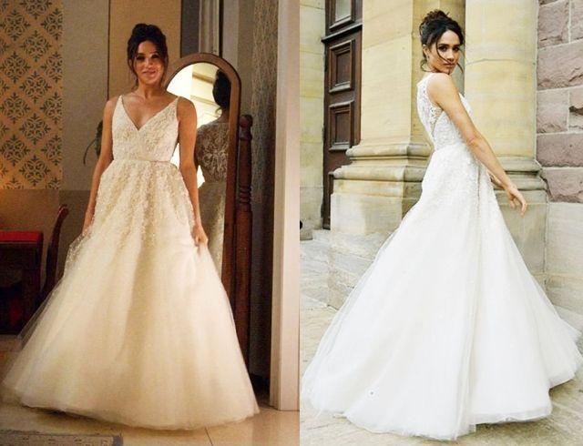 Меган Маркл выбрала свадебное платье