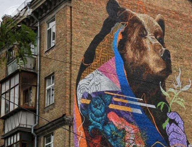 Три украинских мурала были признаны лучшими в мире в 2017 году (ФОТО)