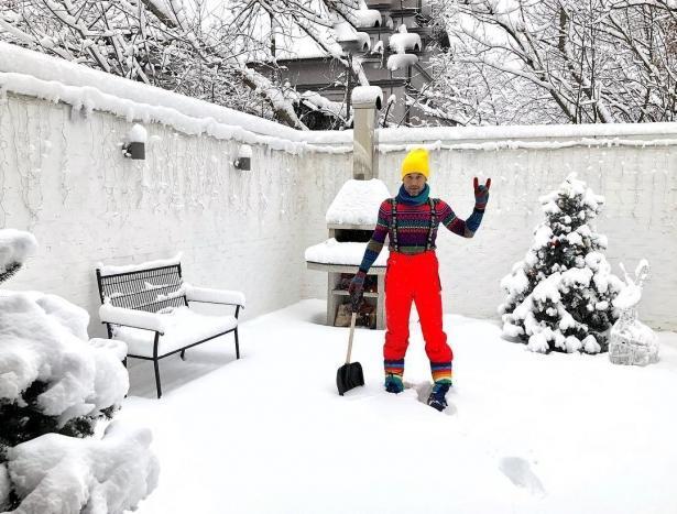 Сергей Бабкин поразил поклонников своей зимней традицией