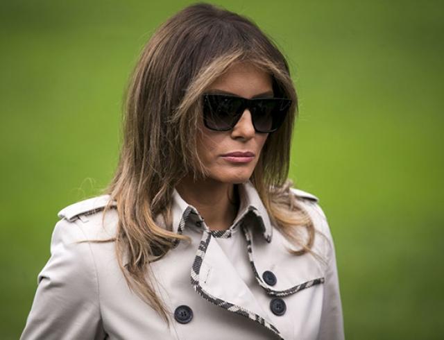 Впервые после скандала: Мелания Трамп посетила Мемориальный музей жертв Холокоста
