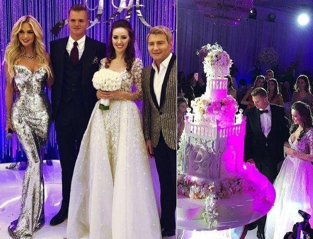 Свадьба Костенко и Тарасова: огромный торт, LOBODA, Басков с Лопыревой и первый танец (ФОТО+ВИДЕО)