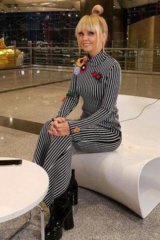 Валерия пришла на день рождения дочери Пригожина в старом платье